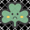 Sad Coriander Face Emoticon Emotion Icon