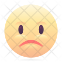 Sad Unhappy Emoji Icon