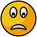 Emoji Emoticon Upset Emoji Icon