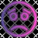 Sad Emoji Cute Emoji Icon