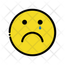 Cry Sad Emotion Icon