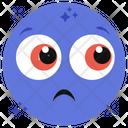Sad Emotag Emoji Emoticon Icon