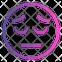 Sad Emoticon Cute Emoji Icon