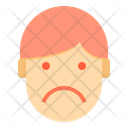 Sad Emotion Face Icon