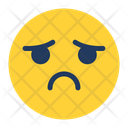 Sad Expression Icon