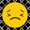 Face Sad Emoji Icon