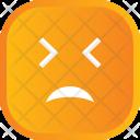Sad No Face Icon