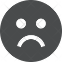 Face Emoji Sad Icon