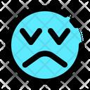 Sad Face Less Icon