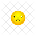 Sad Face Smiley Icon