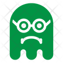 Sad geek Icon