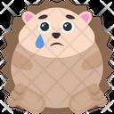Sad Hedgehog Icon