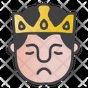 Sad King Icon