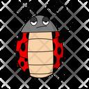Sad Ladybug Icon