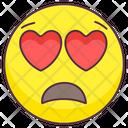 Sad Love Emotag Icon