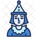 Character Pierrot Theater Icon