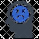 Negative Reaction Sad Icon