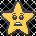 Sad Star Icon