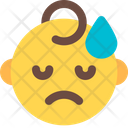Sad Sweat Baby Icon