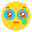 Sad With Tear Icon