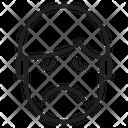 Sadness Emotion Face Icon