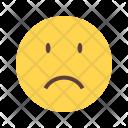 Sadness Emoji Face Icon