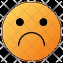 Sadness Face Emoji Face Icon