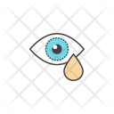 Sadness Sarrow Eye Icon