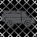 Safari Car Transportation Icon