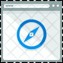 Safari Webpage Window Icon