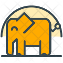 Safari Elephant Zoo Icon