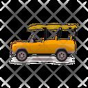 Safari Car Safari Nature Icon