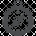 Safari Compass Direction Tool Icon