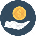 Safe Investment Currency Icon