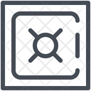 Safe Bank Deposit Icon