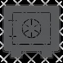 Safe Box Security Icon
