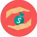 Safe Saving Money Icon