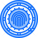 Safe Fingerprint Vault Icon
