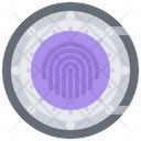 Safe Fingerprint Vault Icon