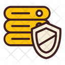 Safe Data Protection Data Shield Icon