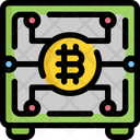 Safe Bitcoin Cryptocurrency Icon