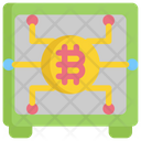 Digital Bitcoin Lockere Icon