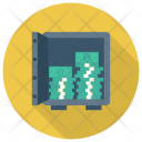 Safe Bank Dollar Icon