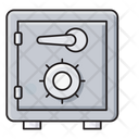 Safe Vault Securitybox Icon