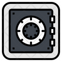 Safe Security Lock Icon