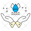 Safe Water Life Icon