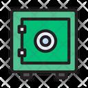Safe Locker Vault Icon