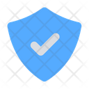 Shield Check Protection Safe Icon