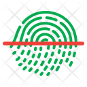 Safe Fingerprint Look Icon