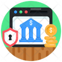 Banking Website Safe Banking Online Banking Icon